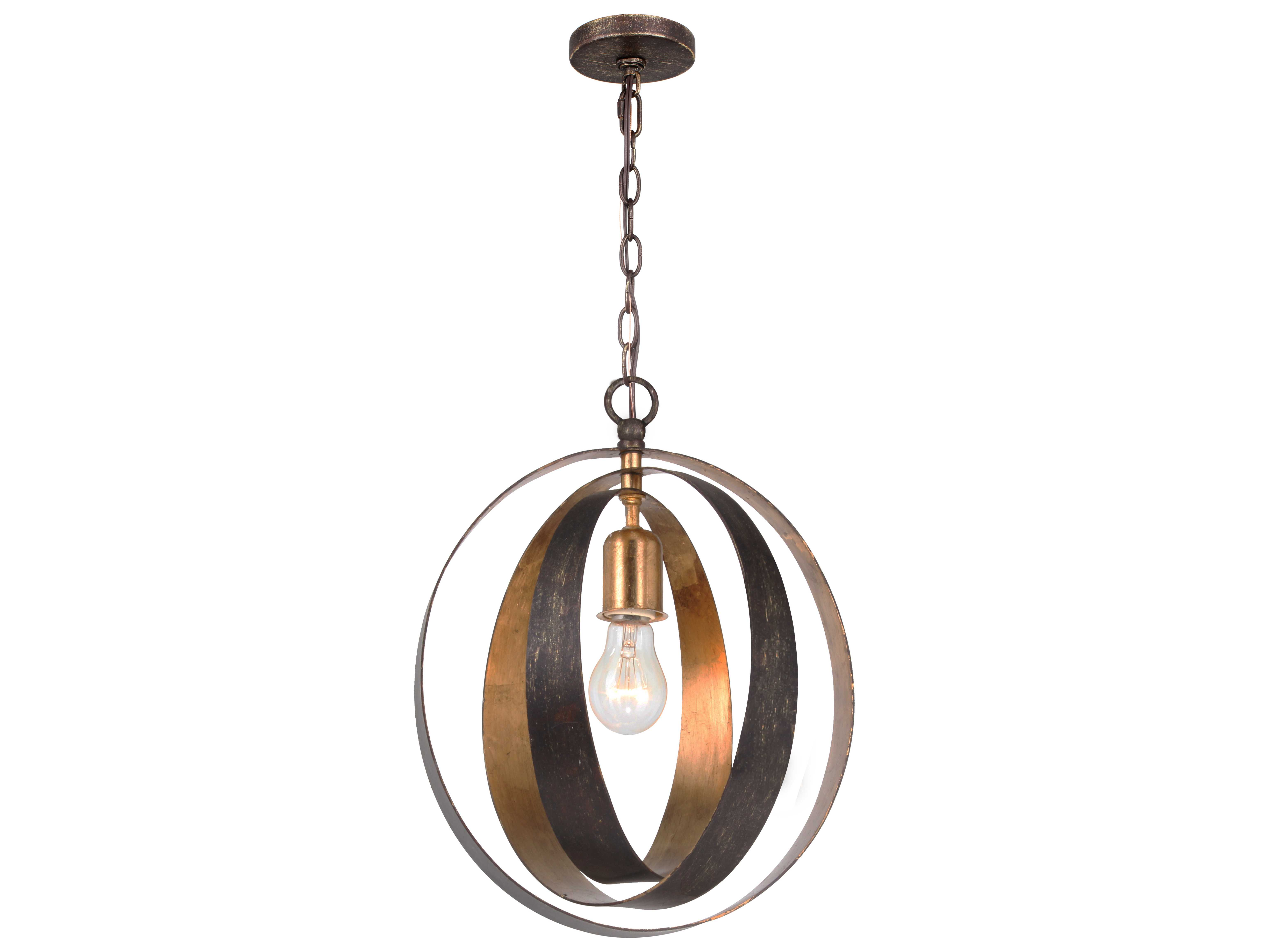 Crystorama Luna Mini Chandelier Cry580ebga