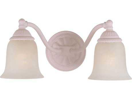 Crystorama Hot Deal Blush Two-Light Vanity Light