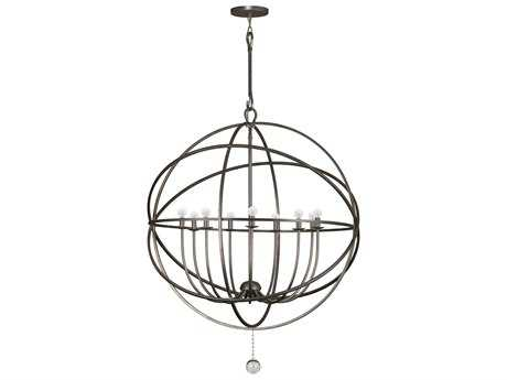 Crystorama Solaris Nine-Light 40'' Wide Grand Chandelier