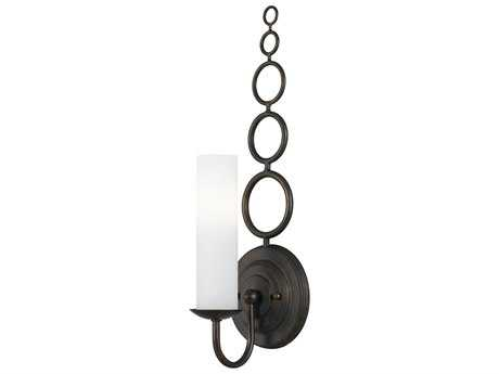 Crystorama Cameron English Bronze Wall Sconce