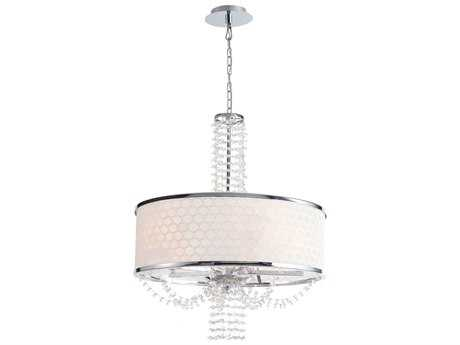 Crystorama Allure Chrome Five-Light 20'' Wide Chandelier