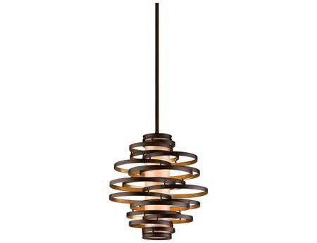 Corbett Lighting Vertigo Two-Light Bronze Pendant
