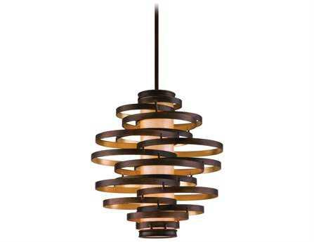 Corbett Lighting Vertigo Three-Light Bronze Pendant