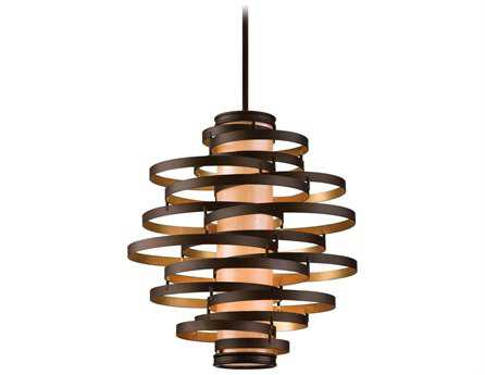 Corbett Lighting Vertigo Four-Light Bronze Pendant