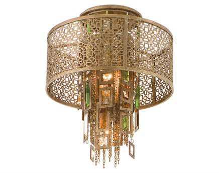 Corbett Lighting Riviera Riviera Bronze Semi-Flush Mount Light