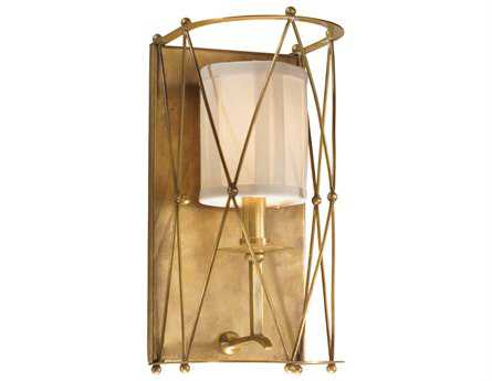 Corbett Lighting Argyle Aged Brass Wall Sconce