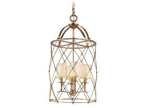 Corbett Lighting Argyle Four-Light 16'' Wide Aged Brass Chandelier