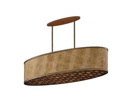 Corbett Lighting Mambo Six-Light Bronze Island Light
