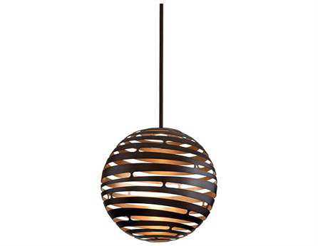 Corbett Lighting Tango Textured Bronze Pendant