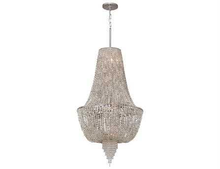 Corbett Lighting Vixen Six-Light Polished Nickel Pendant