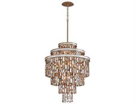 Corbett Lighting Dolcetti 13-Light Silver Pendant