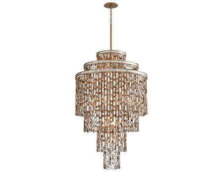 Corbett Lighting Dolcetti 19-Light Silver Pendant