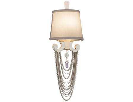 Corbett Lighting Flirt Modern Silver Wall Sconce