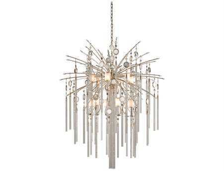 Corbett Lighting Bliss 13-Light Topaz Leaf Pendant