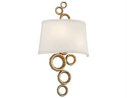 Corbett Lighting Continuum Two-Light Polished Brass Wall Sconce