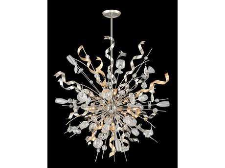Corbett Lighting Party All Night 12-Light Modern Silver Pendant