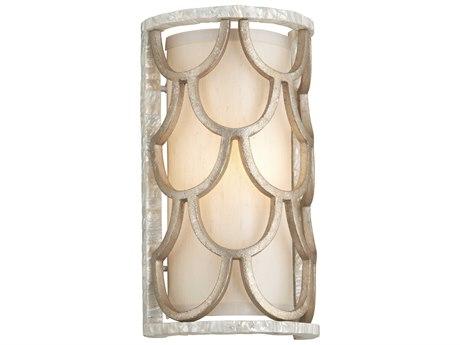 Corbett Lighting Koi Textured Koi Leaf 8'' Wide Wall Sconce