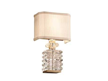 Corbett Lighting First Date Two-Light Silver Leaf Wall Sconce