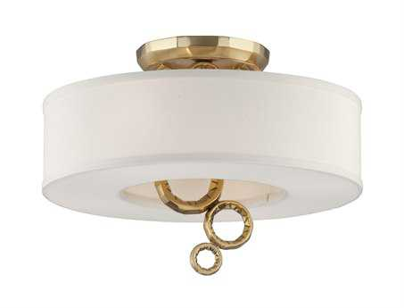 Corbett Lighting Continuum Four-Light Semi-Flush Mount Light