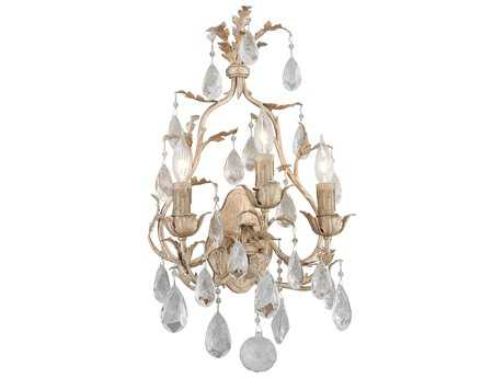 Corbett Lighting Vivaldi Venetian Leaf Three-Light Wall Sconce