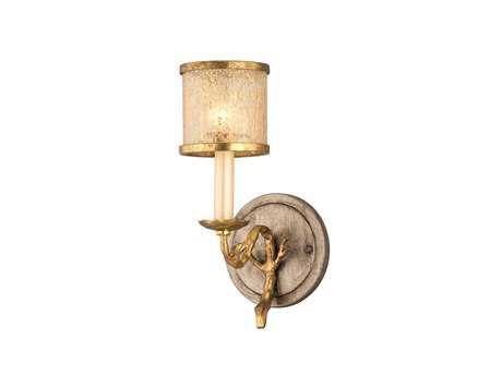 Corbett Lighting Parc Royale Gold and Silver Leaf Bath Light