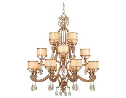 Corbett Lighting Roma 16-Light Antique Roman Silver Grand Chandelier