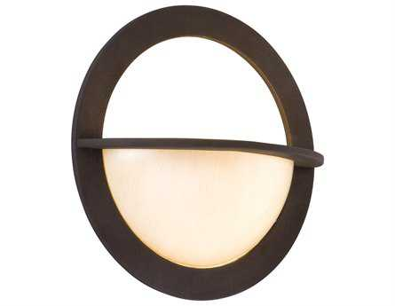 Corbett Lighting Cirque Brown Suede Wall Sconce