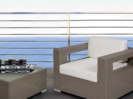 Caluco 10 Tierra Wicker Mocaccino Lounge Set PatioLiving