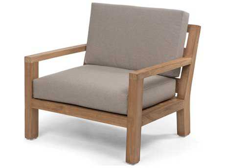 Caluco La.la. Teak Cushion Club Chair