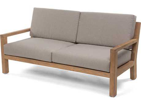 Caluco La.la. Teak Cushion Loveseat