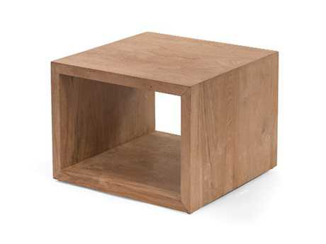 Caluco La.la. Teak 24 Square End Table