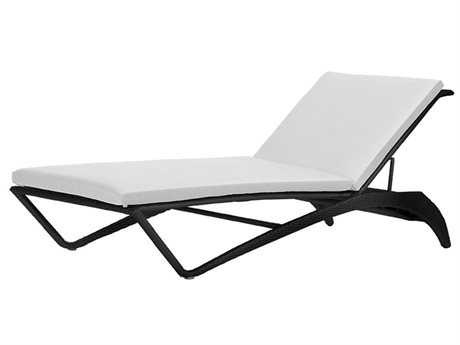 Caluco Hampton Wicker Chaise Lounge