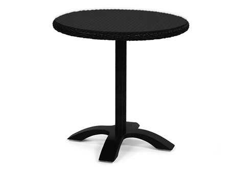 Caluco Hampton Wicker 32 Round Bistro Table