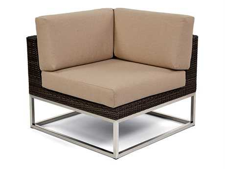 Caluco Mirabella Wicker Cushion Sectional Lounge Chair