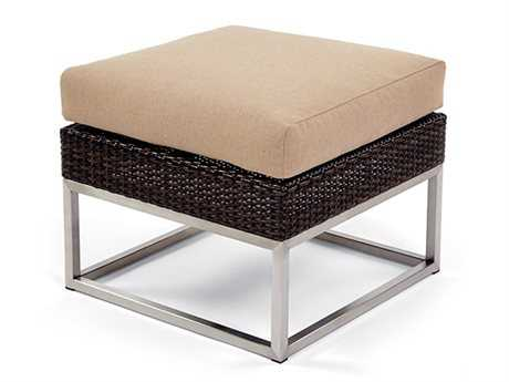 Caluco Mirabella Wicker Cushion Ottoman
