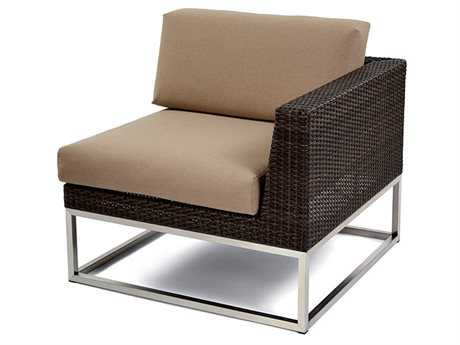 Caluco Mirabella Wicker Cushion Left Arm Lounge Chair