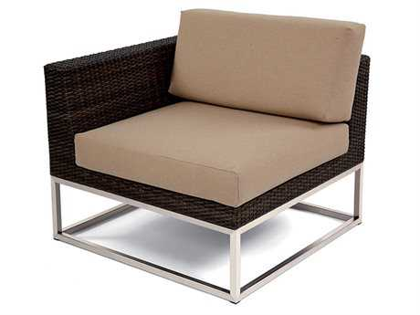 Caluco Mirabella Wicker Cushion Right Arm Lounge Chair