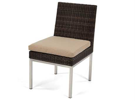 Caluco Mirabella Wicker Cushion Dining Side Chair