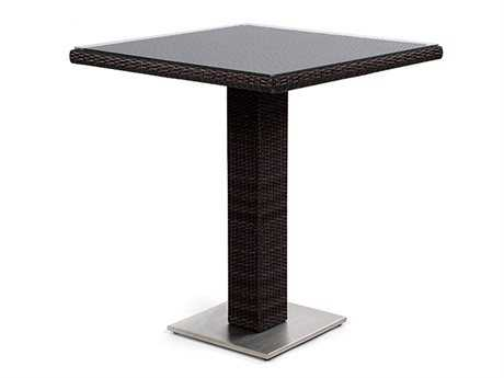 Caluco Mirabella Wicker 36 Square Bar Table