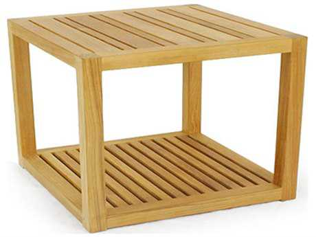 Caluco Cozy Shadow Teak End Table