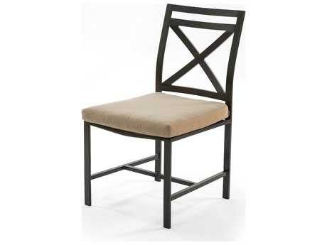 Caluco San Michele Aluminum Cushion Side Dining Chair