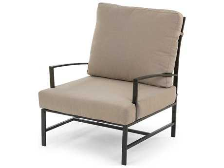 Caluco San Michele Aluminum Cushion Arm Lounge Chair