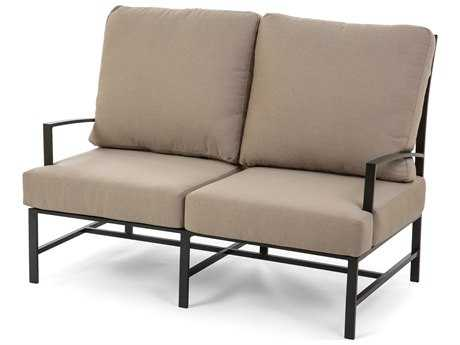 Caluco San Michelle Aluminum Cushion Arm Loveseat