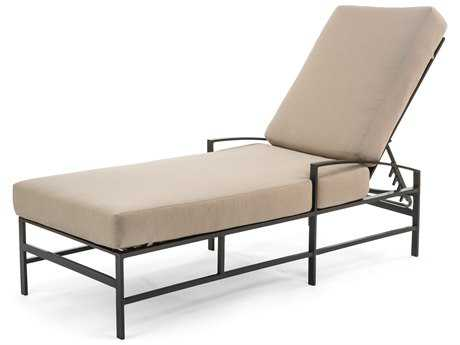 Caluco San Michelle Aluminum Cushion Arm Adjustable Chaise Lounge