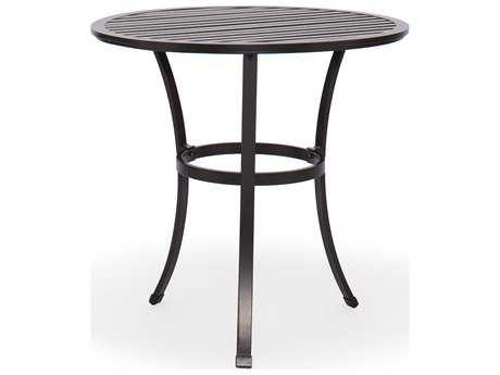 Caluco San Michele Aluminum 30 Round Metal Bistro Table