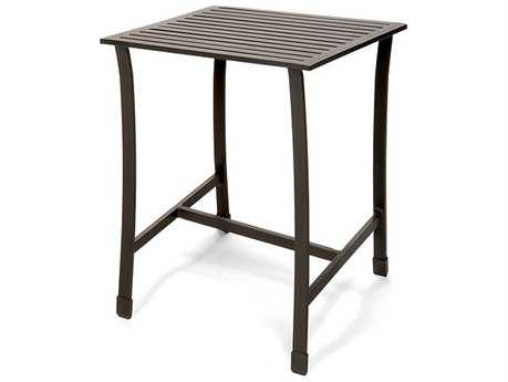 Caluco San Michele Aluminum 32 Square Bar Table