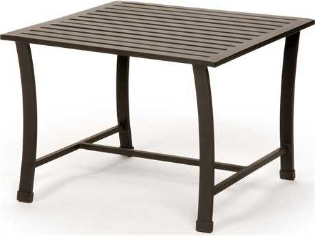 Caluco San Michelle Aluminum 22 Square Metal End Table