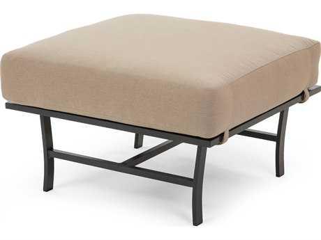 Caluco San Michele Aluminum Cushion Ottoman