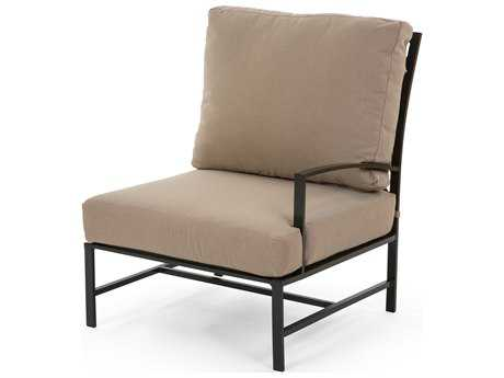 Caluco San Michelle Aluminum Cushion Left Arm Lounge Chair