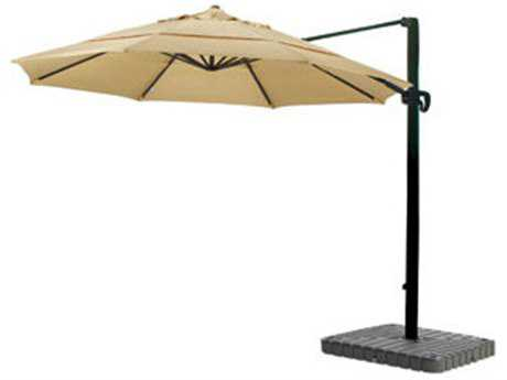 Caluco 11 Foot Octagon Aluminum Cantilever Umbrella